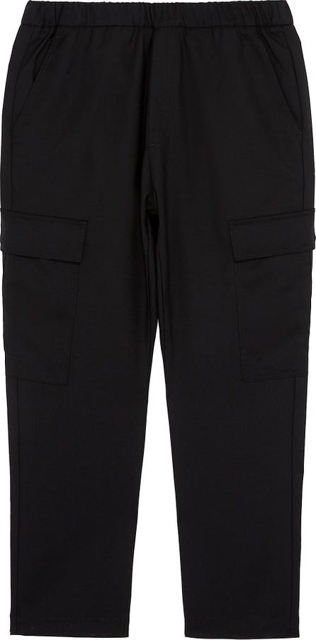 Barena Virgin wool twill cargo jogging pants