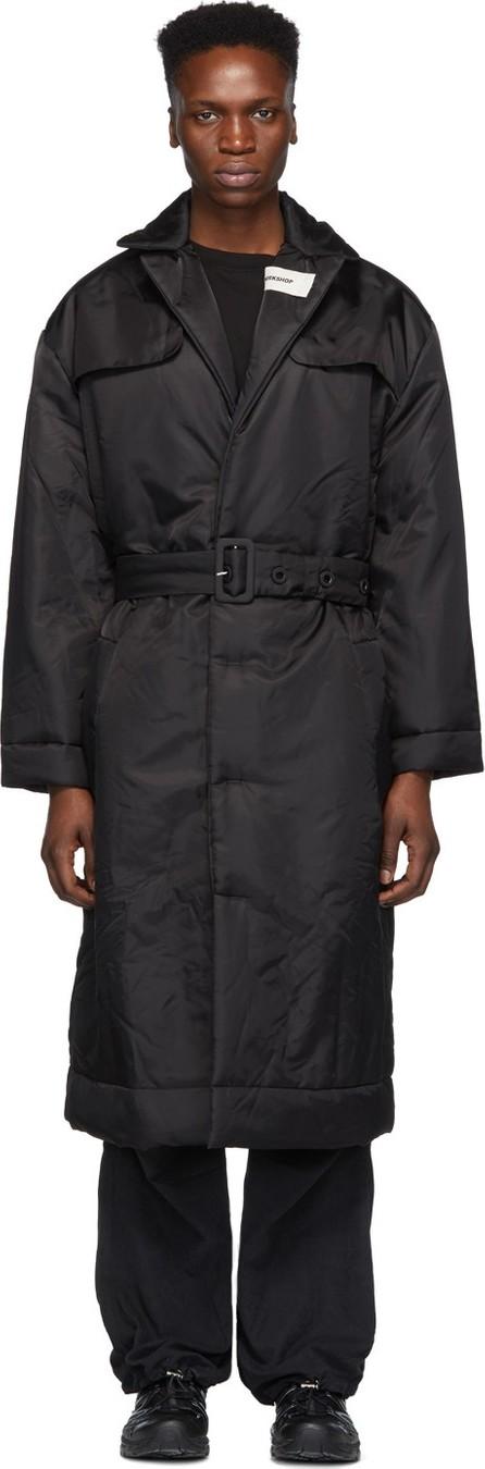 032c Black Cosmic Workshop Overcoat