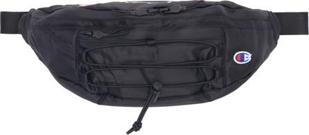 Champion Reverse Weave Black Lace-Up Logo Belt Bag