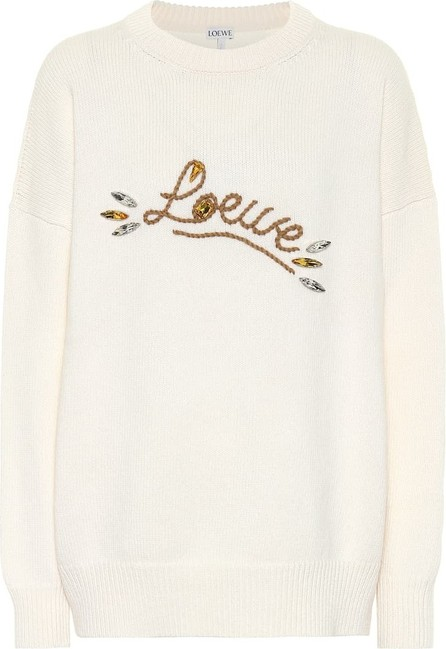 LOEWE Embellished wool sweater