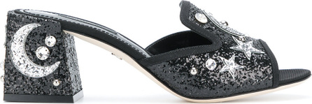 Dolce & Gabbana Star & moon embellished mules