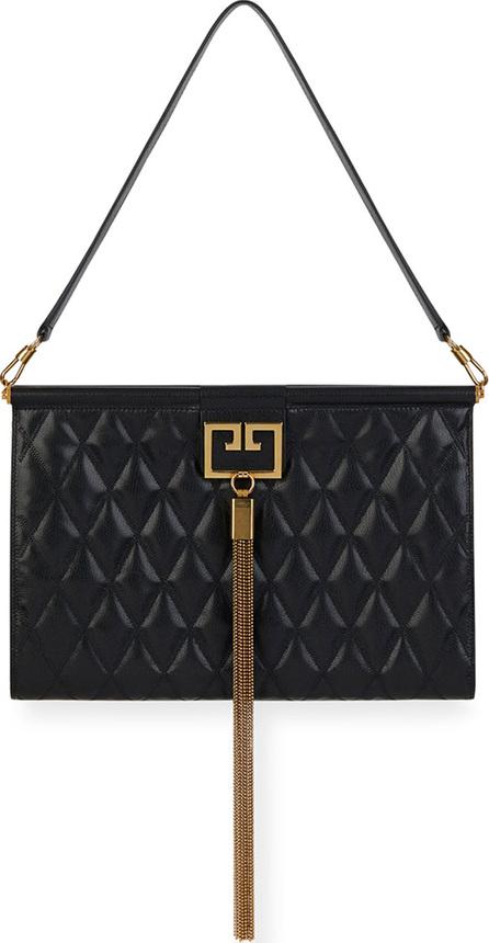 Givenchy Gem Large Quilted Leather Shoulder Bag