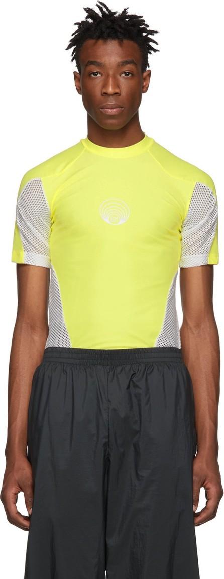 GmbH Yellow & White Technical T-Shirt