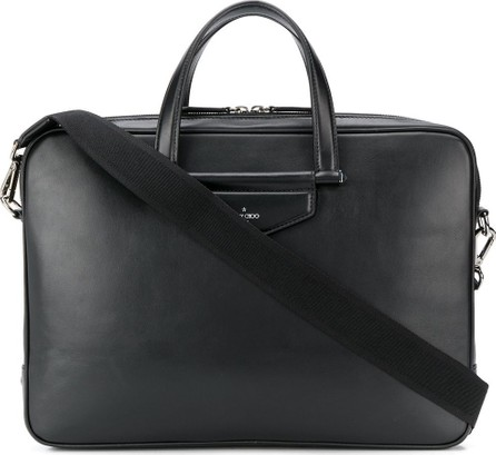 Jimmy Choo Knox rectangular briefcase
