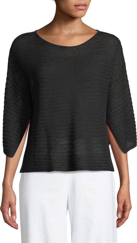 Eileen Fisher Organic Linen Handkerchief-Sleeve Top