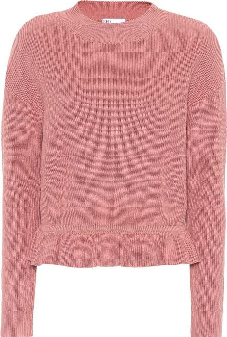 RED Valentino Knitted cotton sweater