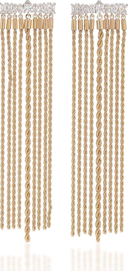 Fallon Gold-Plated Crystal Earrings