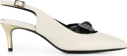 Lanvin Pointed toe slingback pumps
