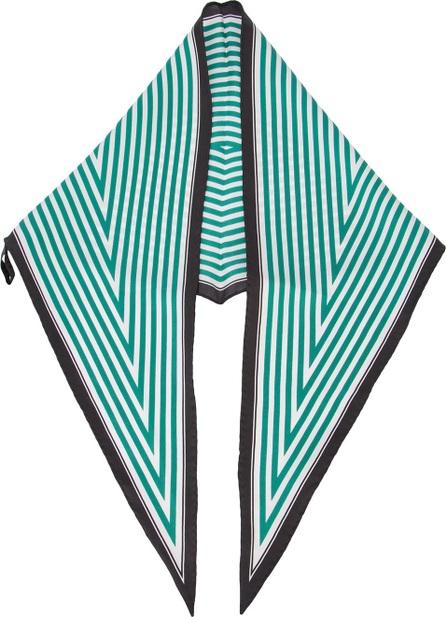 Haider Ackermann diamond stripe scarf