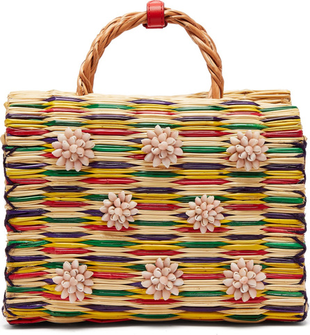 Heimat Atlantica Chito reed basket bag
