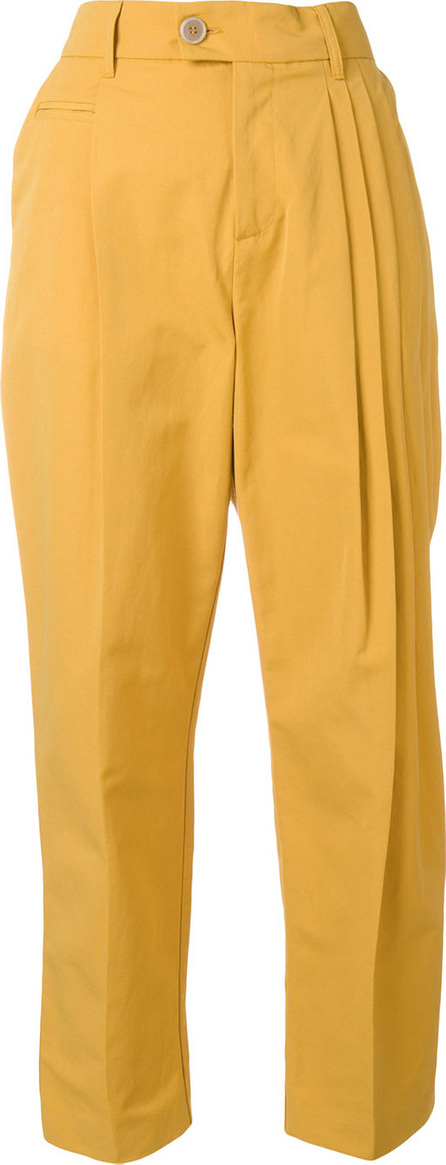 Erika Cavallini Cropped pleated trousers