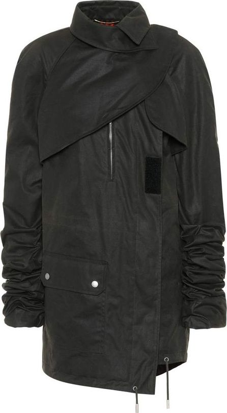 Saint Laurent Waxed-cotton military parka
