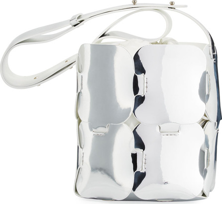 Paco Rabanne 16#01 Mini Patchwork Metallic Hobo Bag