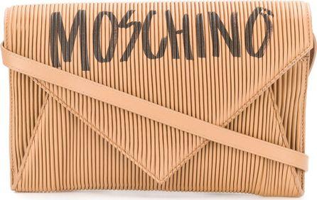 Moschino Micro pleated graffiti bag