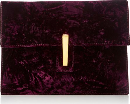 Hayward Velvet Clutch