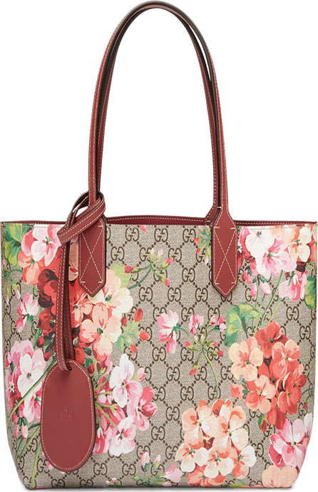 Gucci GG Blooms Reversible Small Tote Bag