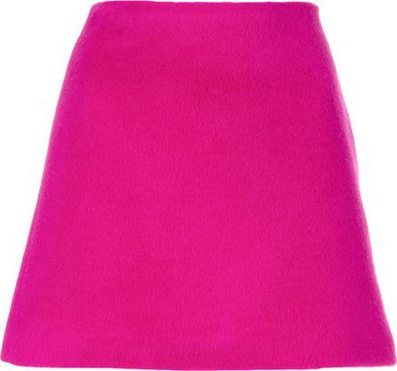 Helmut Lang straight mini skirt