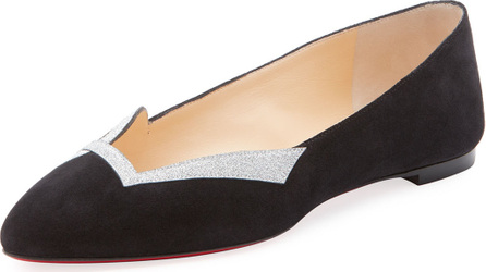 Christian Louboutin Love Red Sole Ballet Flat