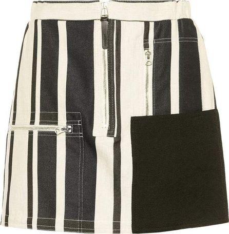 Acne Studios Hilaria cotton and linen miniskirt