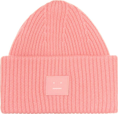 Acne Studios Pansy S Face wool beanie