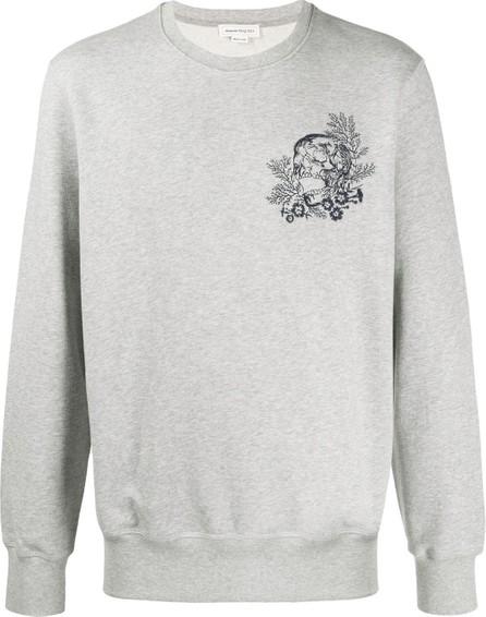 Alexander McQueen Embroidered motif sweatshirt
