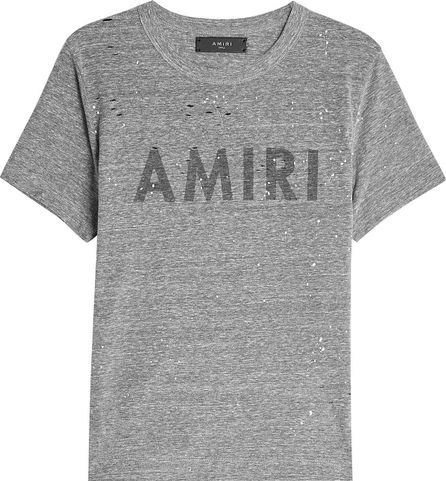 Amiri Printed T-Shirt with Cotton