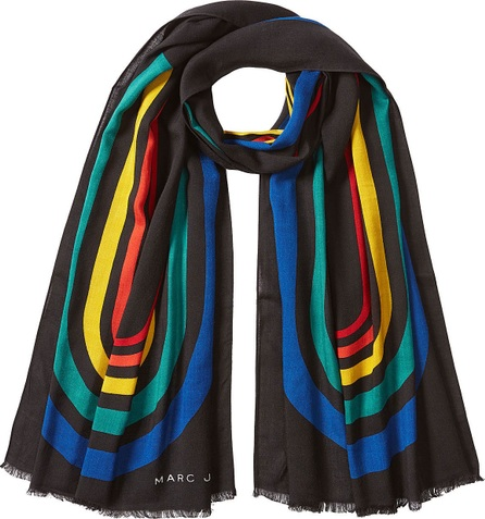 MARC JACOBS Printed Scarf with Wool