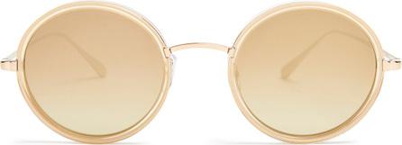 GARRETT LEIGHT Playa 48 round-frame sunglasses