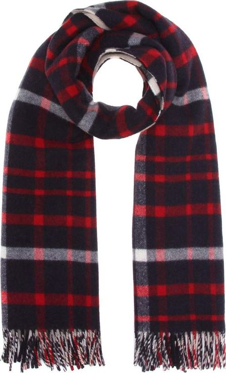 Burberry London England Reversible wool and cashmere scarf