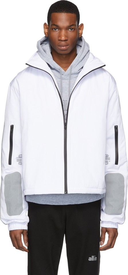 all in White Astro Winter Jacket