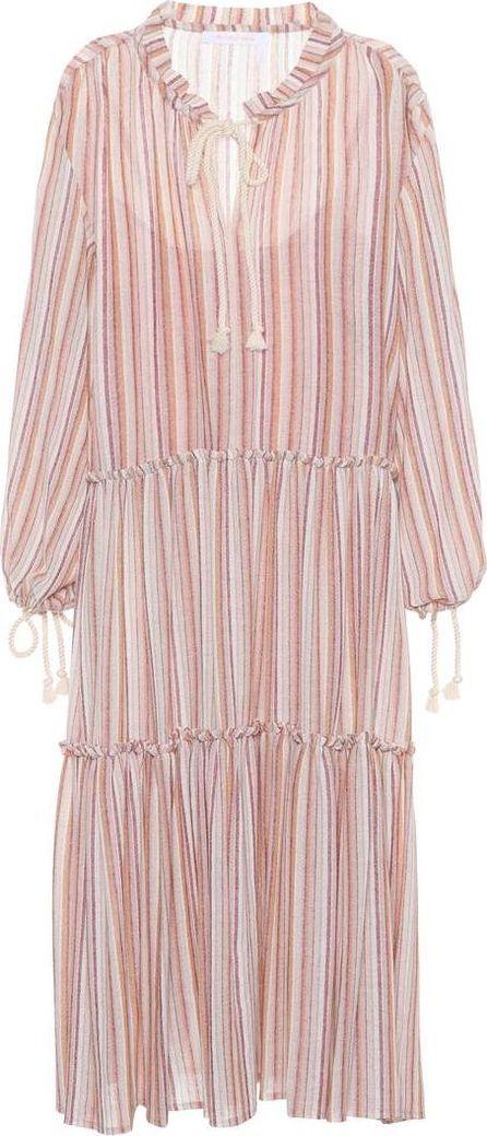 See By Chloé Striped wool-blend dress