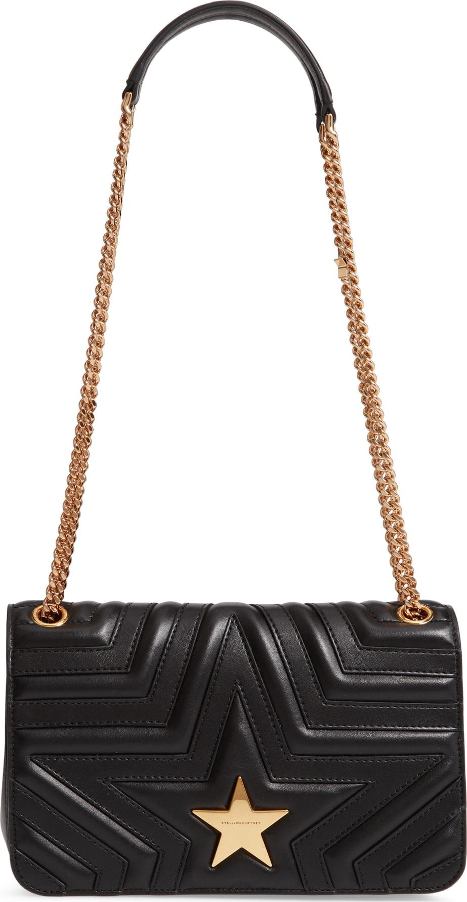 Stella McCartney Star Faux Leather Crossbody Bag - Mkt d128696ae745f