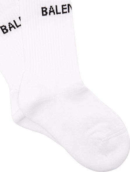 Balenciaga Logo cotton-blend socks