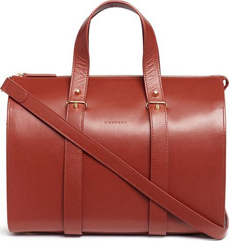 Haerfest 'Eileen' cowhide leather Boston bag