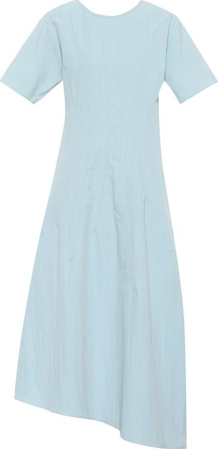 Jil Sander Asymmetrical midi dress