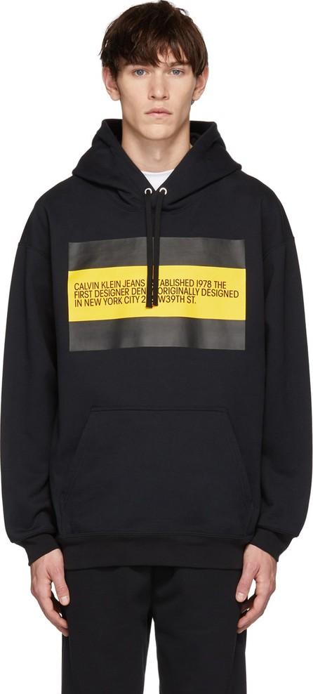 Calvin Klein Jeans Black 'Est. 1978' Patch Hoodie