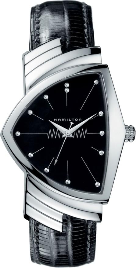 Hamilton Ventura Leather Strap Watch, 32mm x 50mm