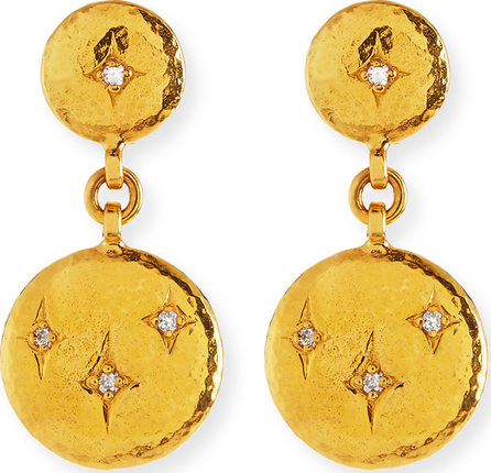 GURHAN 22k Starlight Diamond Drop Earrings