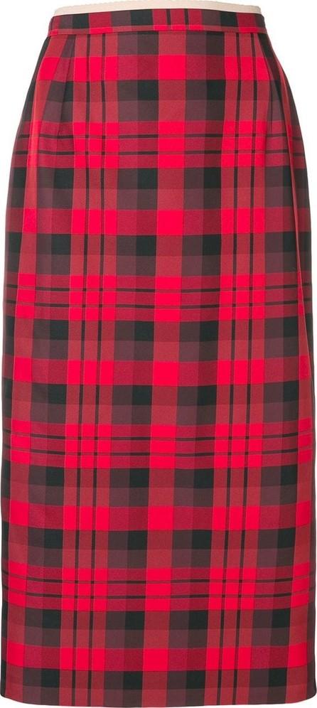 Nº21 Tartan pencil skirt