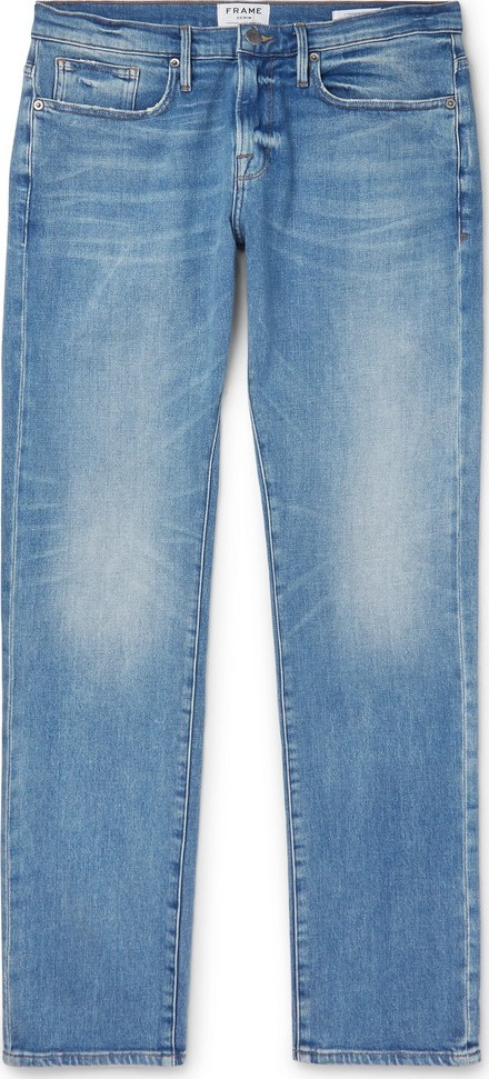 FRAME DENIM L'Homme Slim-Fit Denim Jeans