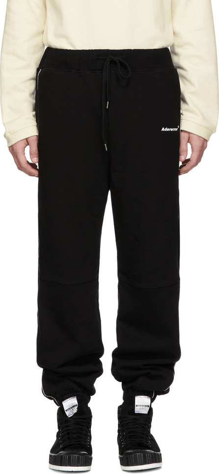 ADER error Black Incision Jogger Pants