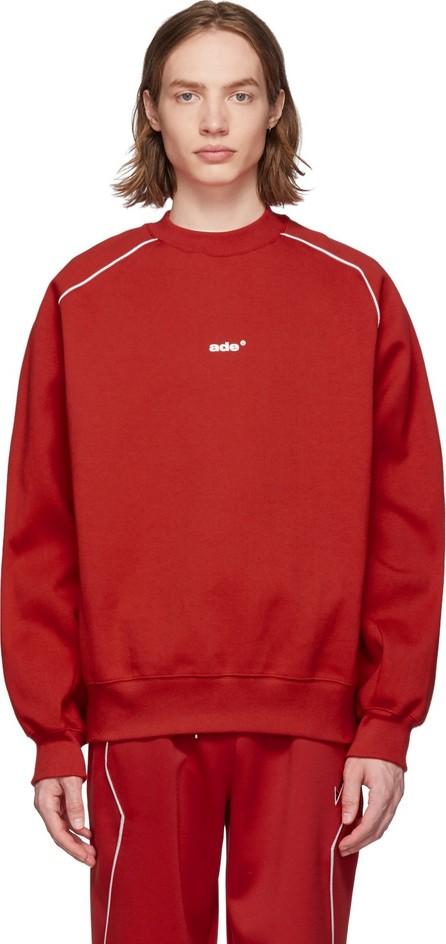 ADER error Red Thunder Sweatshirt
