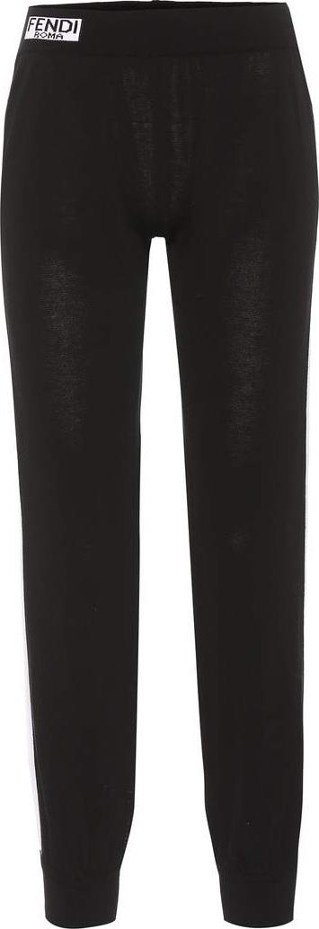 Fendi Cotton track pants