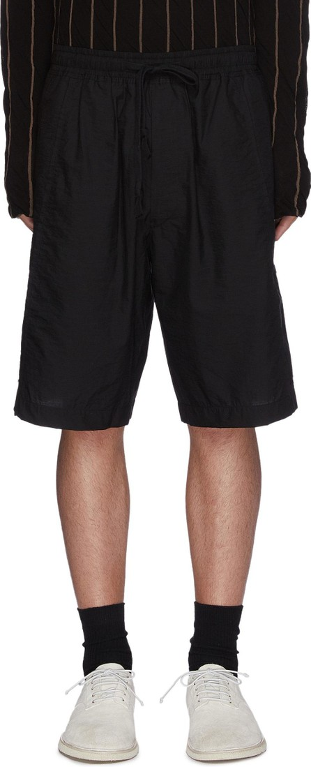 Ziggy Chen Drawstring panelled shorts