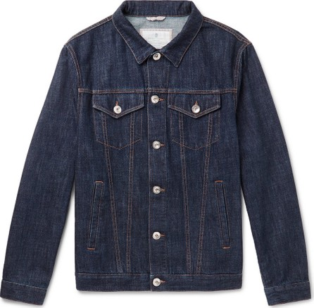 Brunello Cucinelli Slim-Fit Denim Jacket