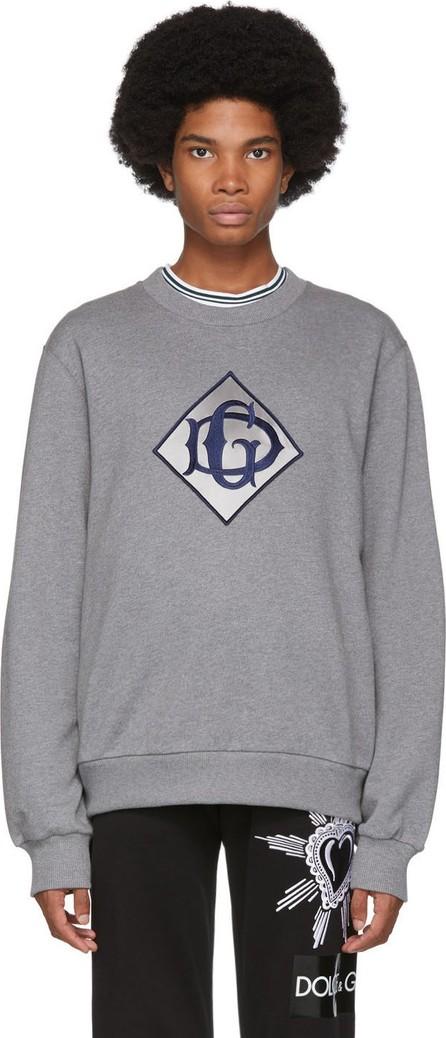 Dolce & Gabbana Grey 'DG' Logo Sweatshirt