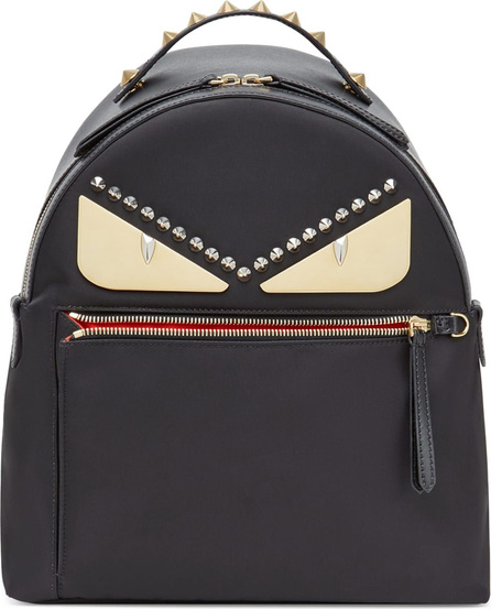 Fendi Metal Monster Nylon Backpack