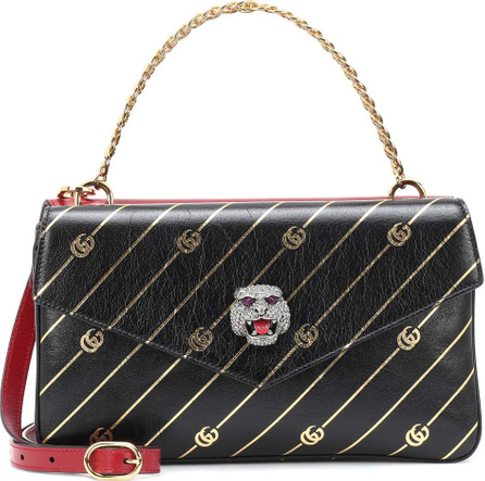 Gucci Double-sided leather shoulder bag