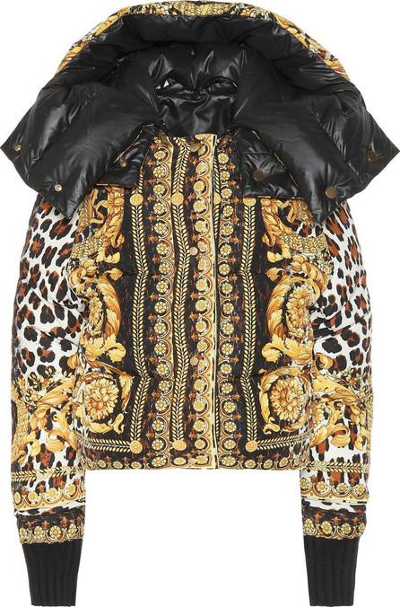 Versace Reversible printed down jacket