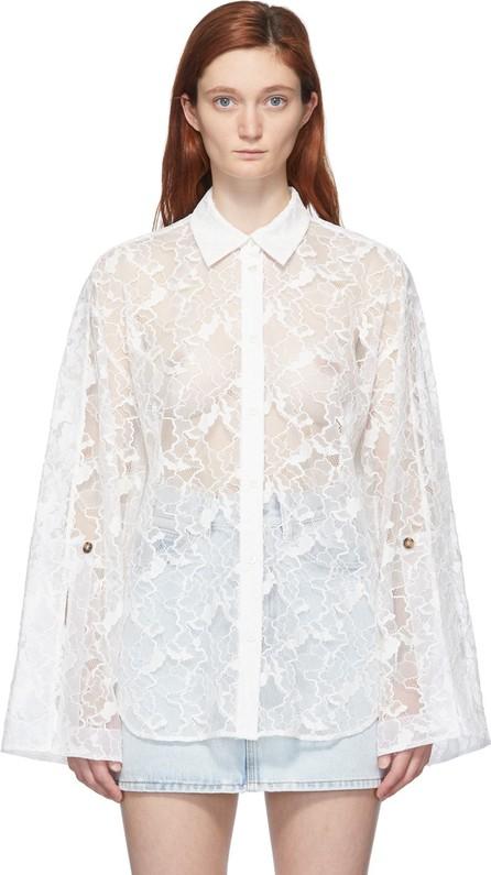 MSGM White Lace Shirt